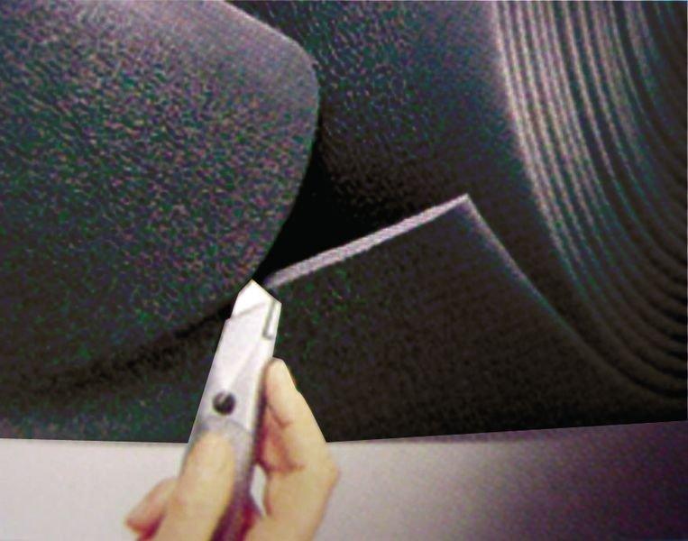 Tappeto antifatica granulare in rotolo per ambienti asciutti - Tappeti antifatica