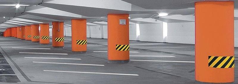 Barra di protezione per superfici piane in poliuretano - Seton