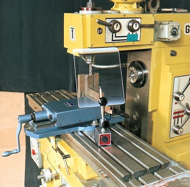 Schermo di protezione per macchinari su supporto magnetico - Seton