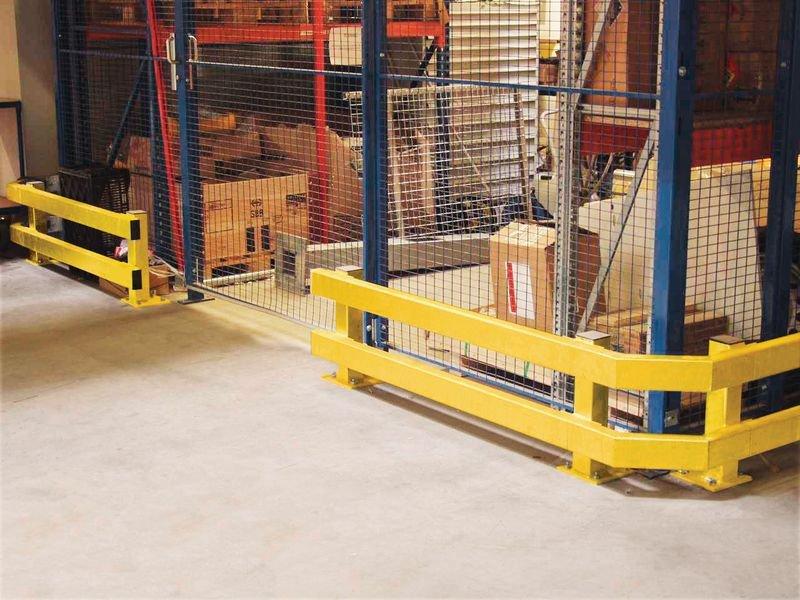 Tappo di chiusura per barriera di protezione modulare - Seton