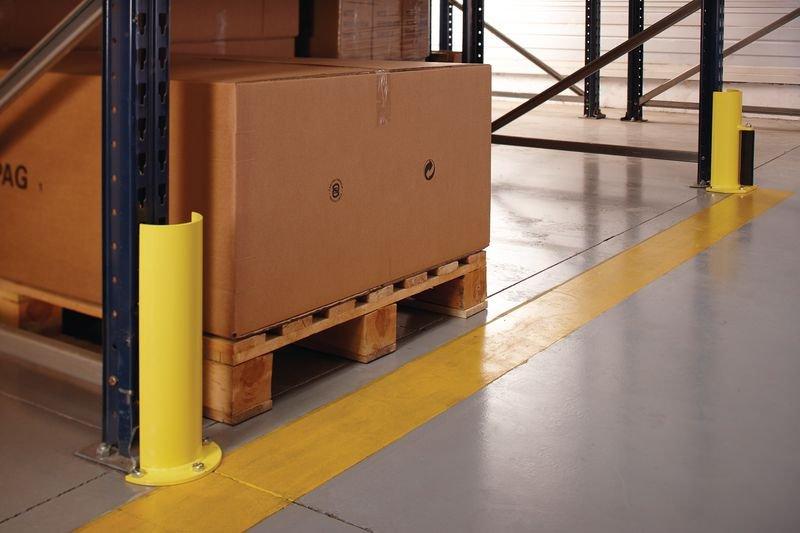 Protezione verticale arrotondata per scaffalature portatpallet - Seton