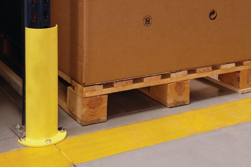 Protezione verticale arrotondata per scaffalature portatpallet - Protezioni per scaffalature