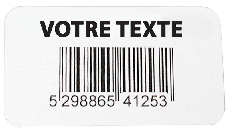 Etichette con codice a barre in vinile rinforzato