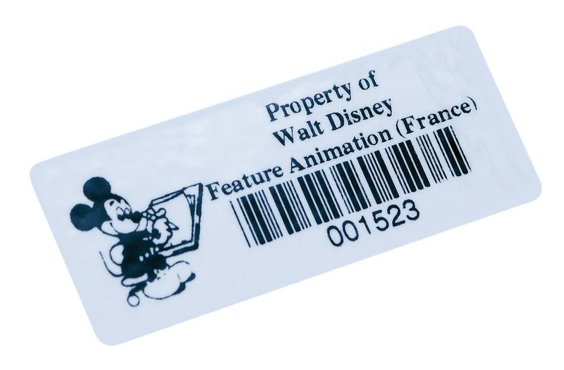 Etichette con codice a barre in vinile rinforzato - Seton