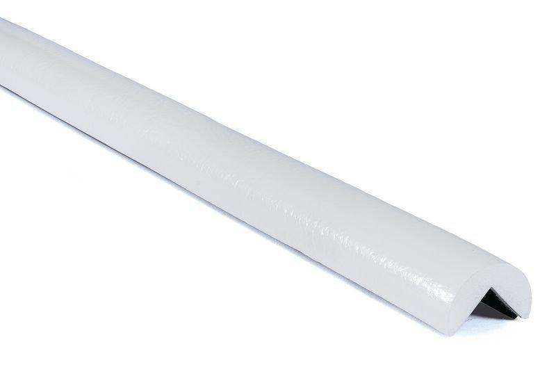Profilo antiurto per angoli magnetico Optichoc arrotondato tinta unita - spigolo da 25 mm