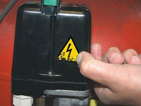 Adesivi segnaletici rettangolari Pericolo elettrico