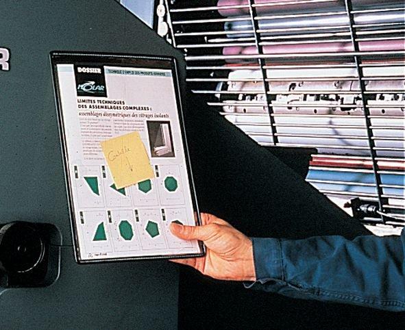 Buste portadocumenti trasparenti magnetiche - Seton