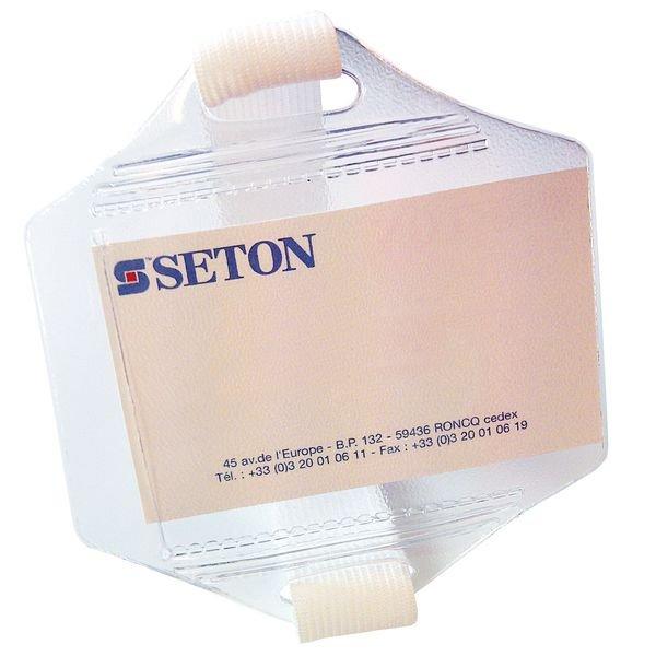 Set da 30 bracciali portabadge - Seton