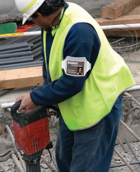 Set da 30 bracciali portabadge - Badge per personale e visitatori e accessori