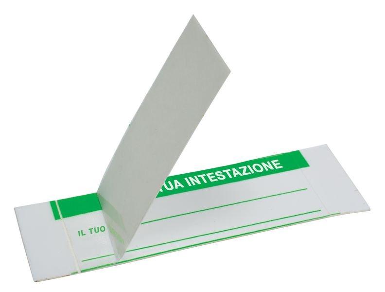 Etichette per ispezione autolaminate personalizzabili