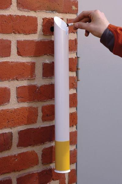 Posacenere da parete design a forma di sigaretta - Seton
