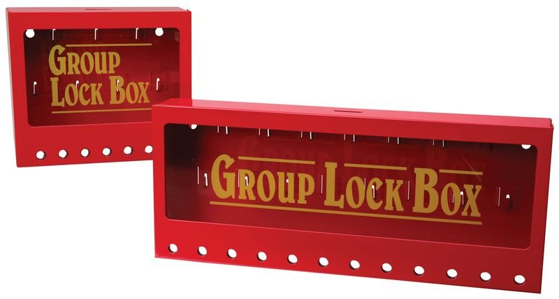 Centralina di bloccaggio a muro - Lock box e stazioni per lockout