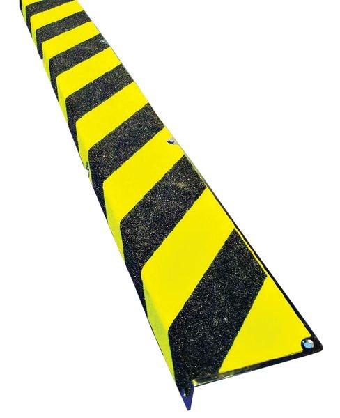 Profilo antiscivolo a L per gradini in acciaio inossidabile