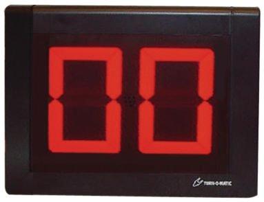 Display eliminacode a 2 e 3 cifre Turn-O-Matic®