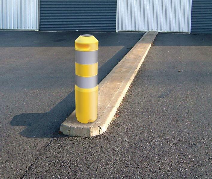 Chiave di fissaggio al suolo per paletto di protezione a sollevamento automatico - Delimitazione posti auto