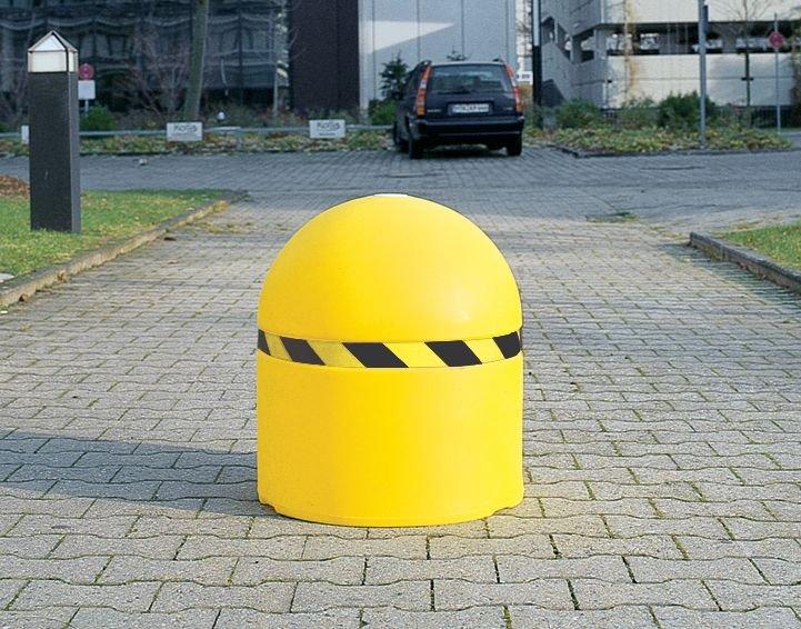Dissuasore di sosta zavorrabile di grande diametro