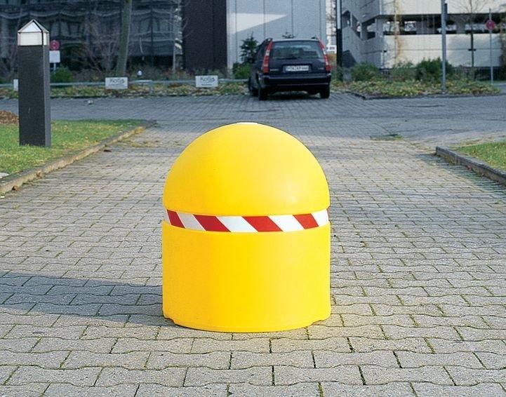 Dissuasore di sosta zavorrabile di grande diametro - Delimitazione posti auto