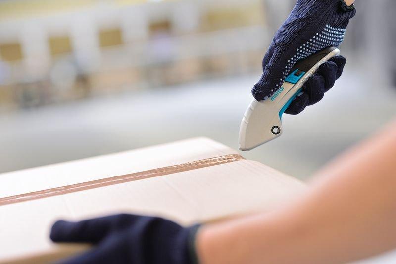 Cutter a cursore con lama estraibile automatica Martor® Secupro Martego