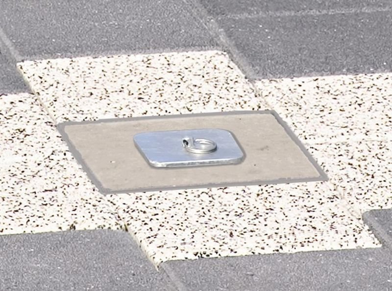 Paletto stradale a scomparsa in acciaio - Arredo urbano