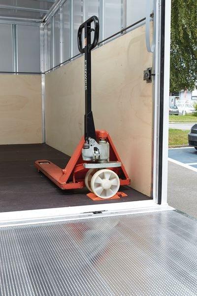 Cuneo blocca ruota per transpallet - Attrezzatura per banchine di carico