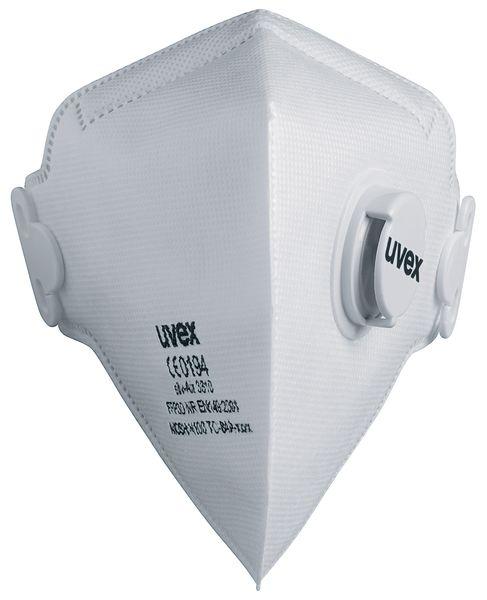 Maschera respiratoria pieghevole FFP3 Uvex® silv-Air C