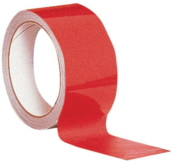 Nastri di segnalazione ad alta visibilità riflettenti adesivi a tinta unita