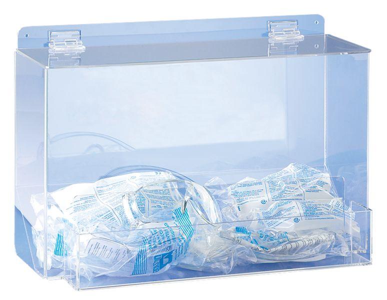 Distributore di occhiali protettivi e respiratori