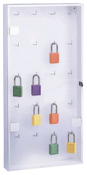 Armadietto per chiavi e lucchetti