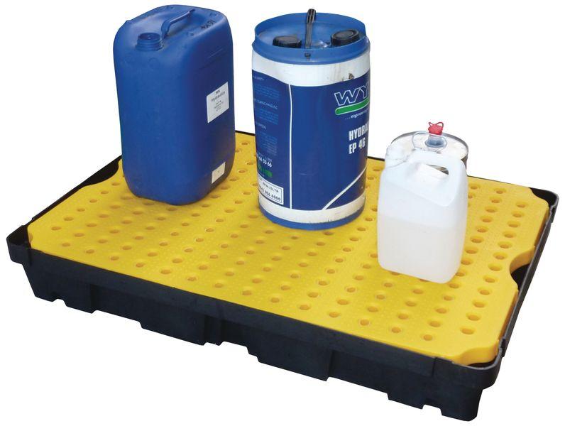 Vasca di contenimento impilabile per piccole quantità