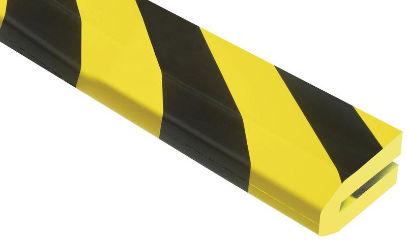 Profilo in schiuma a U Optichoc trapezio - per bordi da 60 mm