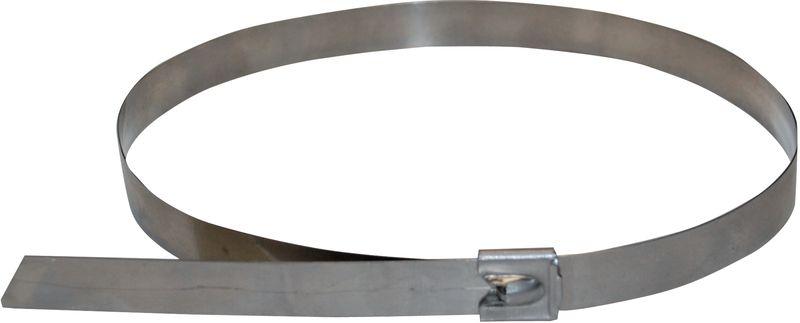 Fascetta di serraggio in acciaio inox