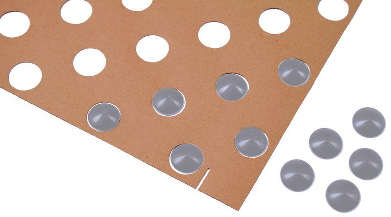 Kit da 200 chiodi podotattili senza gambo + 3 sagome di posa
