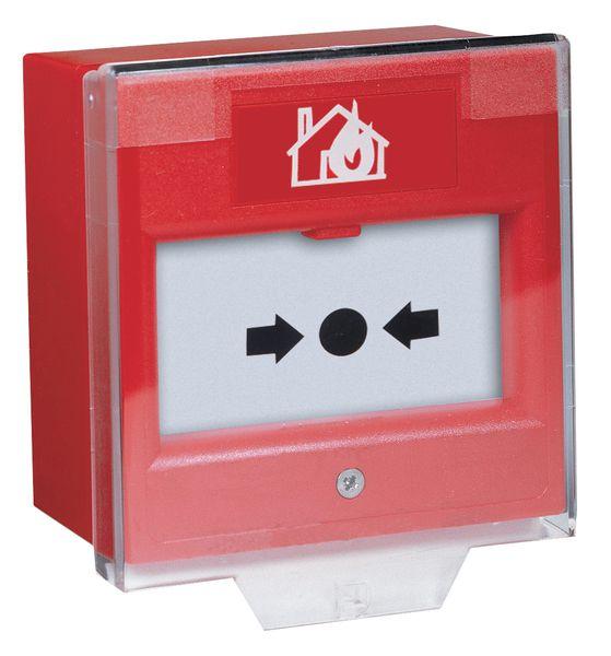 Coperchio protettivo per pulsante manuale di allarme