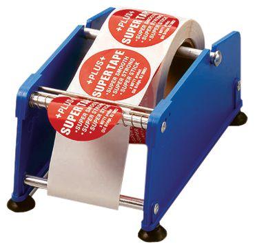 Distributore di etichette con separatore in plastica