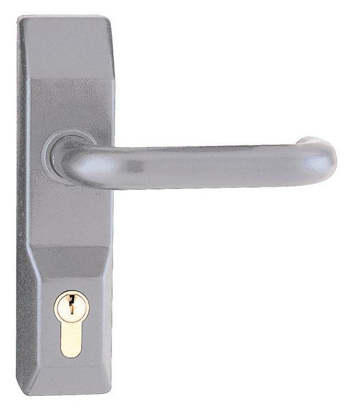 Maniglia esterna per porta a chiusura antipanico