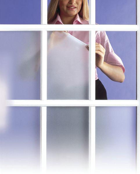 Pellicola opaca adesiva per vetri