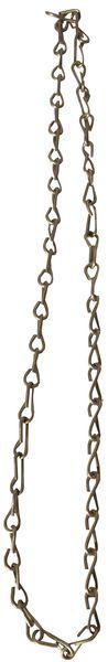 Catenella ad anelli in acciaio inox, per fissaggio