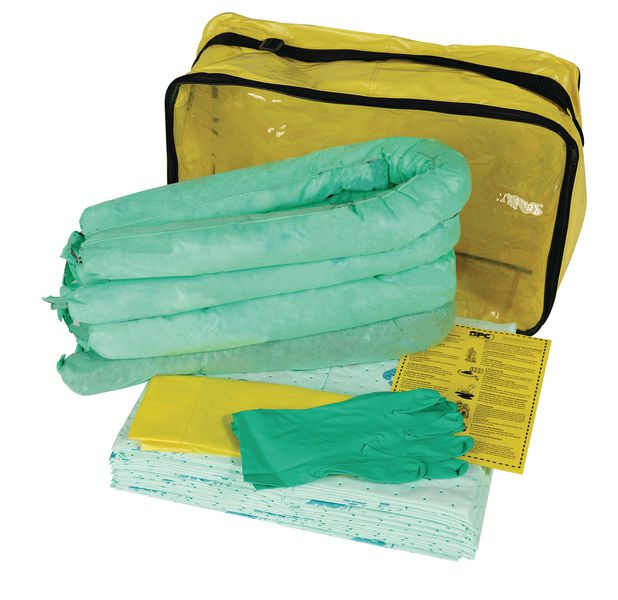 Kit ADR di assorbenti per prodotti chimici