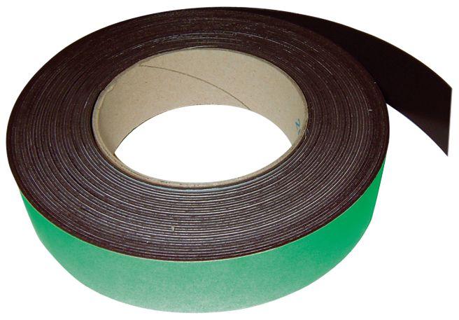 Targhette magnetiche colorate in rotolo