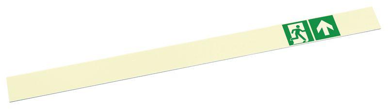 Strisce adesive fotoluminescenti per maniglioni antipanico