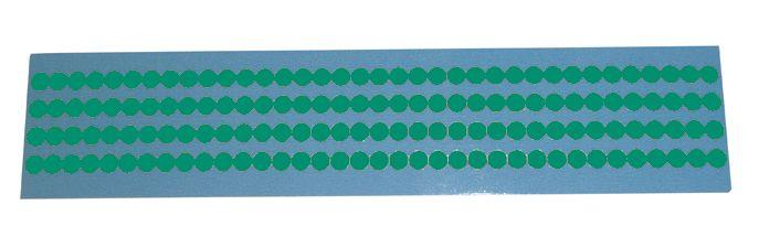 Mini bollini adesivi in vinile multiuso