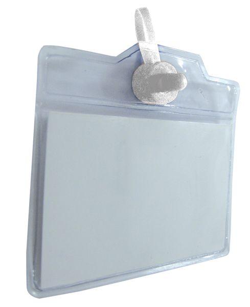 Bustina portabadge a fissaggio magnetico