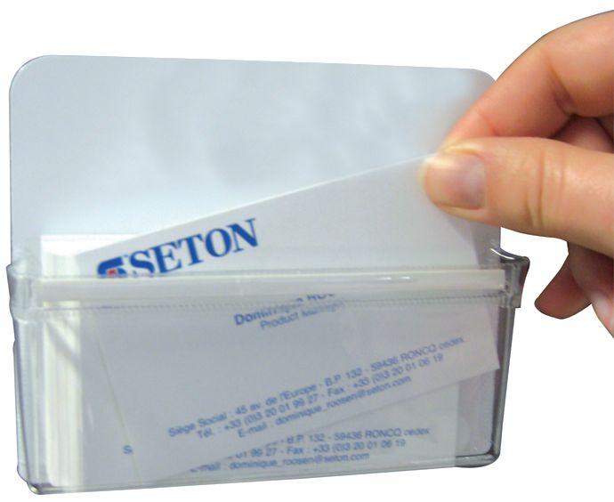Tasca portadocumenti magnetica in vinile flessibile