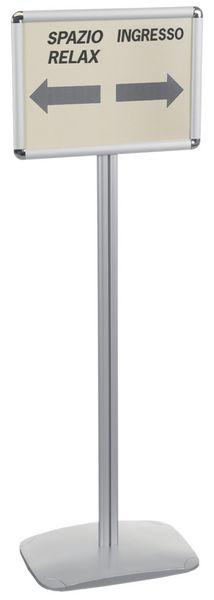 Espositore a leggio per documenti A4 e A3, verticale o orizzontale
