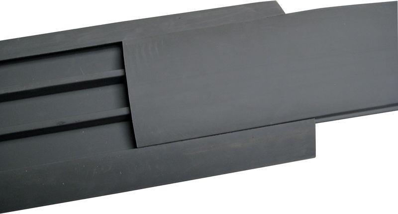 Proteggi cavo da interni in 2 parti in caucciù semi-rigido