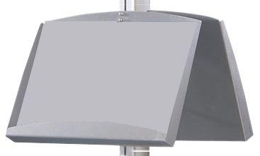 Porta depliant per espositore modulare da terra PVM