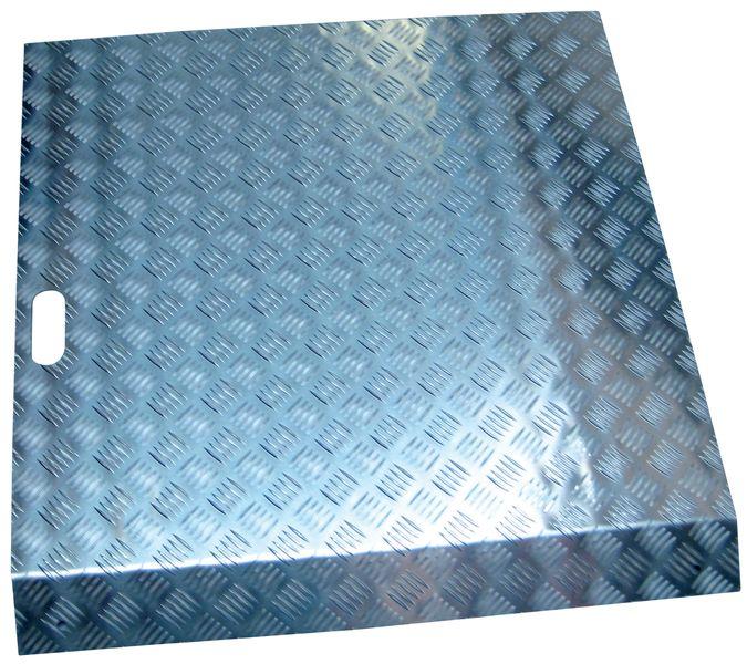 Rampa di accesso in alluminio per utilizzo intensivo