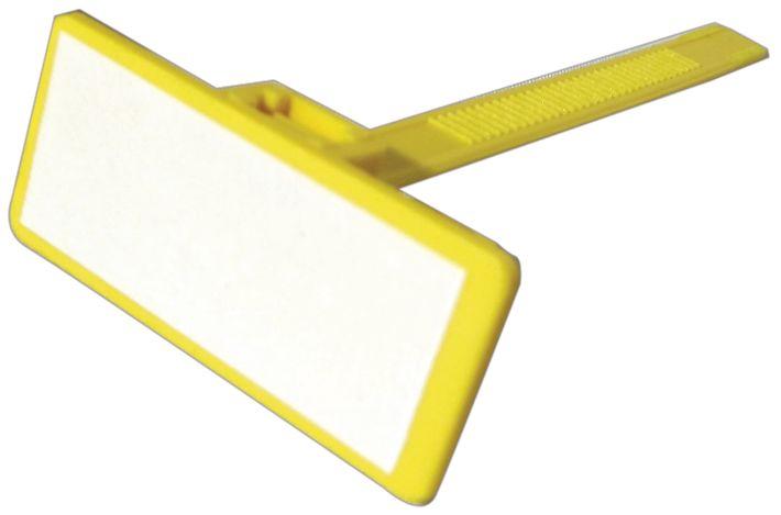 Targhette in nylon colorato con spazio di identificazione
