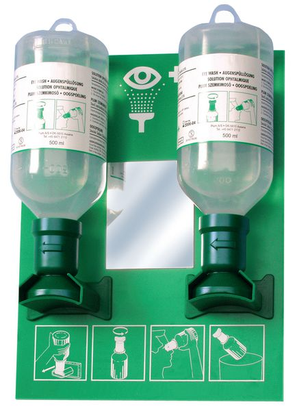 "Dispositivo oculare soluzione ""Salina"" 1 o 2 flaconi Plum"