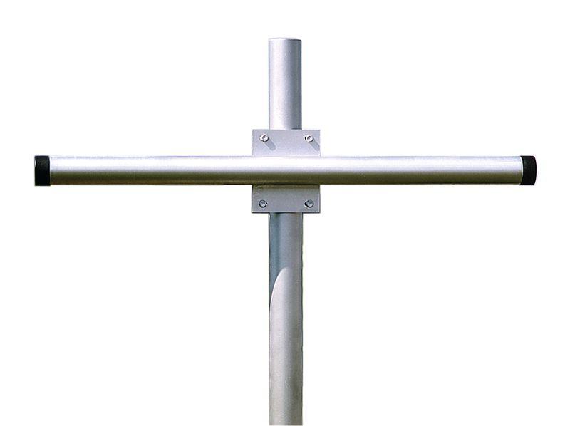 Supporto di fissaggio per 2 specchi in acciaio galvanizzato